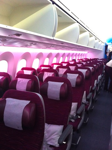 Flying the Dreamliner with Qatar Airways – A Photo Essay