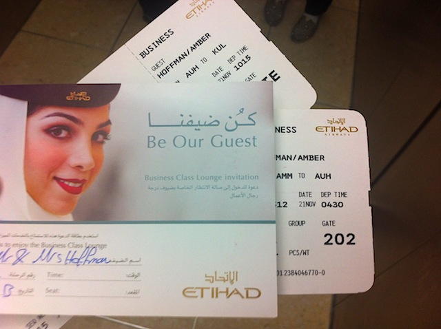 Flying Through Amman With Etihad Airways Help