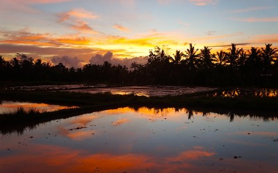 Sunsets in Bali – a Photo Essay
